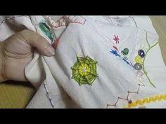 Crewel - Punto Telaraña - YouTube