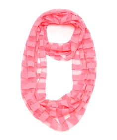 Seeing Stripes Neon Infinity Scarf #shoplately