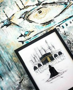 Mecca Wallpaper, Islamic Wallpaper, Arabic Calligraphy Art, Arabic Art, Calligraphy Wallpaper, Islamic Posters, Islamic Art Pattern, Islamic Paintings, Islamic Wall Art