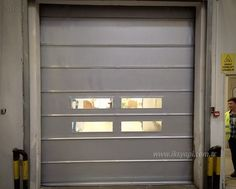 Pvc katlanır kapı; fabrika kapısı