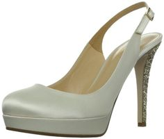 d033e24afd1 Kate Spade New York Women s Leader PumpIvory9.5 M US... Slingback Shoes