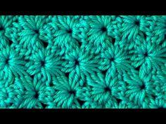 Crochet Pattern Flowers of cluster - YouTube