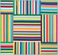 Quilts, Free Quilt Patterns and Designer Patterns: Robert Kaufman Fabrics Scrappy Quilt Patterns, Jelly Roll Quilt Patterns, Modern Quilt Patterns, Jellyroll Quilts, Easy Quilts, Bargello Patterns, Rag Quilt, Quilt Blocks, Quilting For Beginners