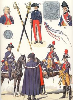 SOLDIERS- Rousselot: NAP- France: Gendfrmerie 1791-1800 (pl 61) 2