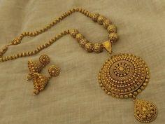 Gold Earrings Designs, Gold Jewellery Design, Gold Designs, Necklace Designs, Gold Jewelry Simple, Stylish Jewelry, Antique Jewelry, Antique Gold, Creations