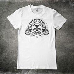 Barbell Rocker Shirt Original Front