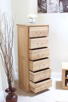 mobel oak tallboy 6 drawer light oak furniture wooden furniture shoe cupboard