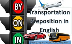Transportation Prepositions in English – By In and On   PPT Download Bangkok Travel, Grammar Lessons, Prepositions, Ways To Travel, Stand Up, Transportation, Meant To Be, Presentation, English