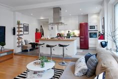 50 Scandinavian Kitchen Design Ideas For A Stylish Cooking Environment - Scandinavian decors have few but bold focal points spread throughout the room