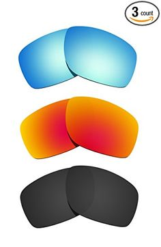 badd8ac6dcf Littlebird4 3 Pairs Polarized Replacement Lenses for Oakley Canteen 2014  Sunglasses Review Women s Jackets
