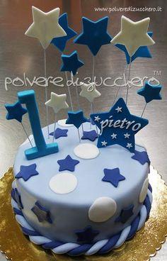 torta 1 compleanno maschio