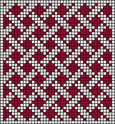 Risultati immagini per geometric filet crochet chart Tapestry Crochet Patterns, Fair Isle Knitting Patterns, Knitting Charts, Weaving Patterns, Mosaic Patterns, Knitting Stitches, Bead Patterns, Filet Crochet, Crochet Chart