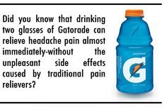 Why Does Gatorade Cure Headaches?