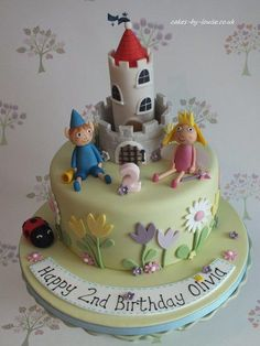 Up until a week ago I'd never even heard of Ben and Holly….!! Really enjoyed making it though