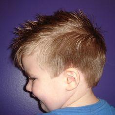 Toddler Boys Hairstyles- zeke idea?