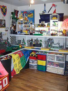 Lego Room U003d Man Cave By Monsterbrick, Via Flickr.