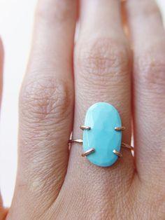 Turquoise Ring on SALE at Friedasophie - www.friedasophie.etsy.com