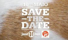 ADOPTAR ESTÁ NA MODA - JUST E SOS ANIMAL JUNTAS EM CAMPANHA DE ADOPÇÃO