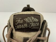 Vintage The North Face Sneaker Shoe US 11 Two Tone Brown Retro Extremely Rare Leather Slip Ons, Leather Men, Black Leather, Loafer Shoes, Shoes Sneakers, Rockabilly Shoes, Saddle Shoes, Pull On Boots, Athletic Men