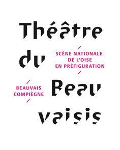 Philipe Apeloig - Théâtre du Beauvaisis Logotype