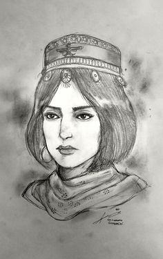 Behnaz Vahiddokth - AD 341 Sassanid Persia by Gambargin on DeviantArt Drawing S, Art Drawings, Persian Warrior, Sassanid, Achaemenid, Ancient Persian, Super Hero Outfits, Iranian Art, Historical Women
