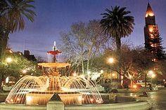 Argentina - San Juan - Ciudad Capital, toma nocturna