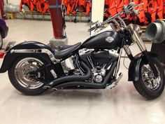Dig the black Harley Fatboy, Bike Leathers, Motorcycle, Vehicles, Men, Black, Black People, Motorcycles, Cars