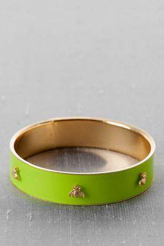 Bastrop Bee Bangle in Green