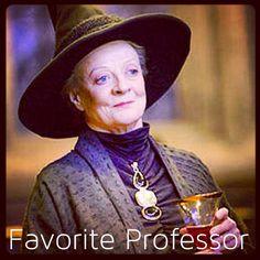 Harry Potter 30 Day Challenge Day 6: Favorite Professor Minerva McGonagall