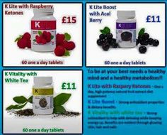 Get healthy today for less! #gethealthy #berrycapsules #raspberryketones #klite #whitetea #acaiberry #bargain Message me for orders or follow the link for more great items https://www.facebook.com/groups/BeckysBargainLovers/