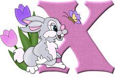 Alfabeto del conejito Tambor de Disney...x