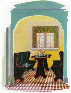 Ideas For Vintage Kitchen Art Breakfast Nooks 1920s Kitchen, Millwork, Bungalow Kitchen, Vintage Interiors, Breakfast Nook, Vintage House, Vintage Kitchen, Farmhouse Style Kitchen, Kitchen Styling