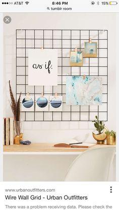 6 Dorm Room Decor Themes that receive an A + through Brit + Co - Deko ideen - Home Decor Bedroom, Diy Room Decor, Wall Decor, Room Decorations, Cozy Bedroom, Kitchen Organization Wall, Office Organization, Diy Casa, Minimalist Home Decor