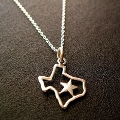 Texas Necklace. LOVE.