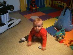Little Max, having fun.