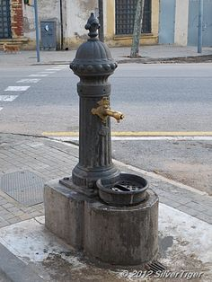 Barcelona drinking fountain...