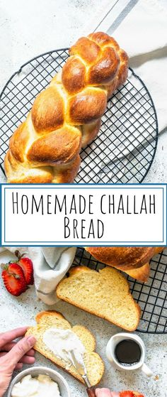 Challah Bread – Pies and Tacos Challah bread recipe. learn how to make homemade challah bread. Challah Bread Recipes, Easy Bread Recipes, Baking Recipes, Stuffed Bread Recipes, Peeps Recipes, Sandwich Recipes, Rice Recipes, Yeast Bread, Sweets