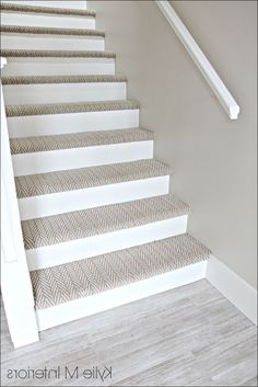 How To Carpet Basement Stairs Basement Stairs Basement Carpet Stairs Carpet Staircase, Carpet Stair Treads, Basement Carpet, Wood And Carpet Stairs, Stairs With Carpet Runner, Staircase Runner, Hardwood Stairs, Hardwood Floors, Basement Steps