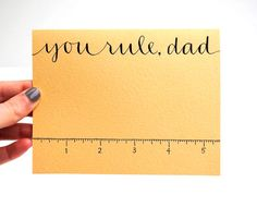 Cute idea for Father's day.