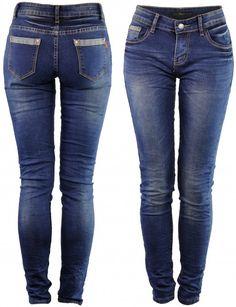 Spodnie Jeans Slim-Fit SKINNY
