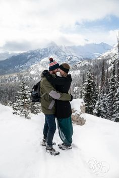 Mountain Engagement Photography: Kellie and Joel | Rocky Mountain National Park | Dream Lake | Stanley Hotel | Colorado Engagement Photographer - RKH Images Stanley Hotel Colorado, Engagement Photography, Engagement Photos, Before Sunrise, Winter Photos, Winter Engagement, Estes Park, Rocky Mountain National Park, Photo Look