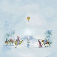 Holy Family And Kings Christmas Cards