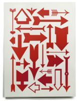 Eames Arrow Print - House Industries