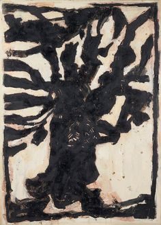 Artwork by Jean-Pierre Pincemin, Arbre, Made of Engraving on paper, mounted on canvas Art Beat, Action Painting, Sculpture Painting, Art Graphique, Outsider Art, Artist At Work, Figurative Art, Les Oeuvres, New Art
