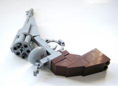Lego replica 1858 Remington