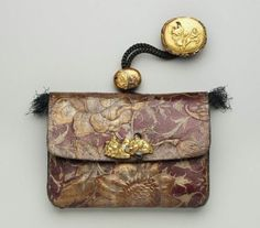 Tobacco-pouch and pipecase with embossed designs; netsuke; kanamono; ojime  Japanese, Meiji era, mid to late 19th century (before 1889)  By Serizawa Ryumin, Japanese, born in 1826  By Unno Shomin, Japanese, 1844–1915, MFA