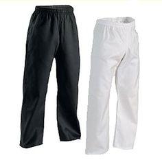 Century Student Elastic Waist Martial Arts Karate Pant White Size 1 - http://www.exercisejoy.com/century-student-elastic-waist-martial-arts-karate-pant-white-size-1/martial-arts/