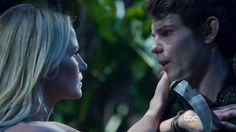 Jennifer Morrison as Emma Swan and Robbie Kay as Peter Pan in Once Upon a Time, Season 3, Episode 2 - Lost Girl