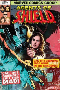 Marvel's Agents of S.H.I.E.L.D.: The Art of Evolution - S.O.S. Part 1 print by Ryan Sook