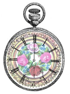 Sweetly Scrapped - other altered pocket watches @ http://sweetlyscrappedart.blogspot.com/#